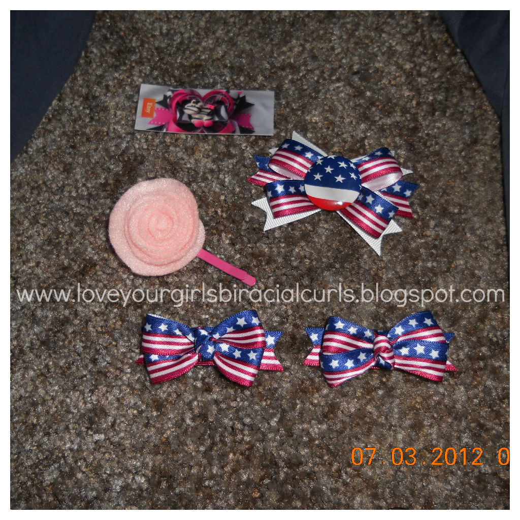 Fourth Of July Hairstyles Love Your Girls Biracial Curls 4th Of July Hairstyles For Girls
