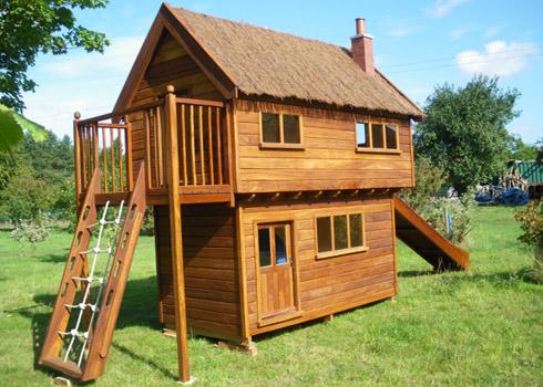 Casas de madera for Casa madera ninos