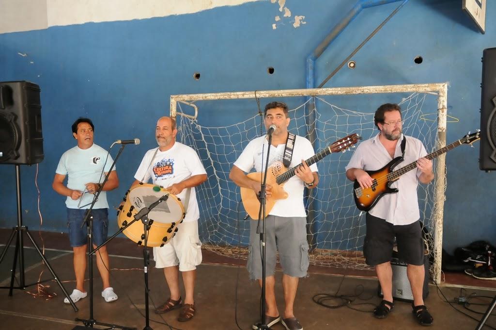 Paulo Medeiros, Arnaldo Almeida, Fernando Mello e Marcos André animaram a plateia com muito forró