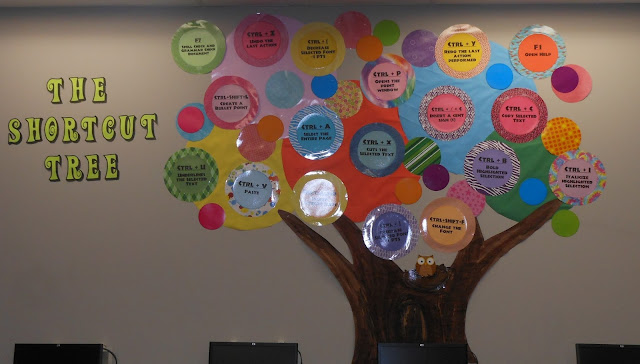Ict Classroom Ideas ~ Teach the bits and bytes first quarter bulletin boards