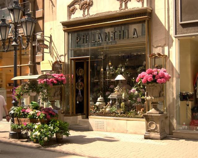 Flower shops in Budapest