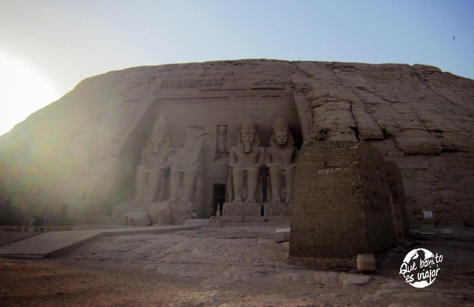 Abu Simbel Templo de Ramses