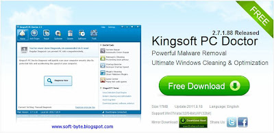 kingsoft pc doctor 3.1