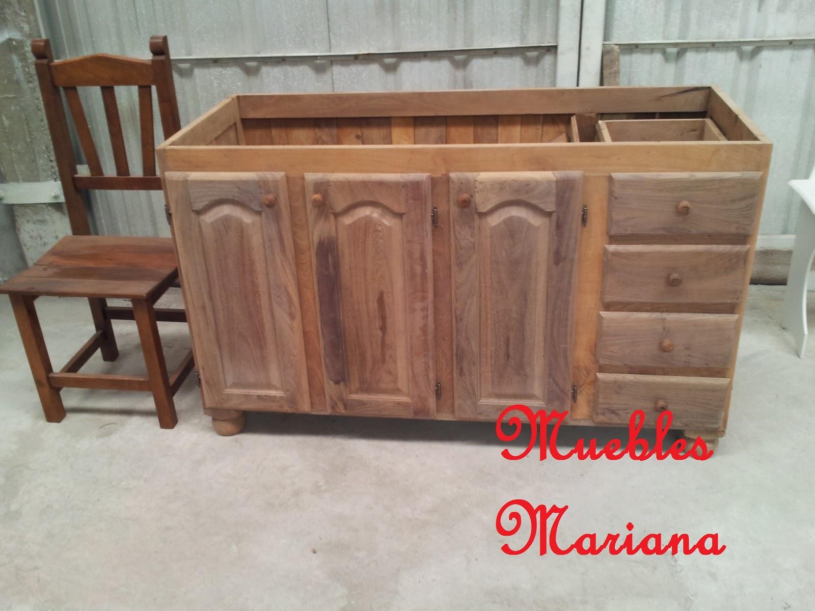 Muebles de Cocina Algarrobo  7018003  disponible en BsAs GBA Zona