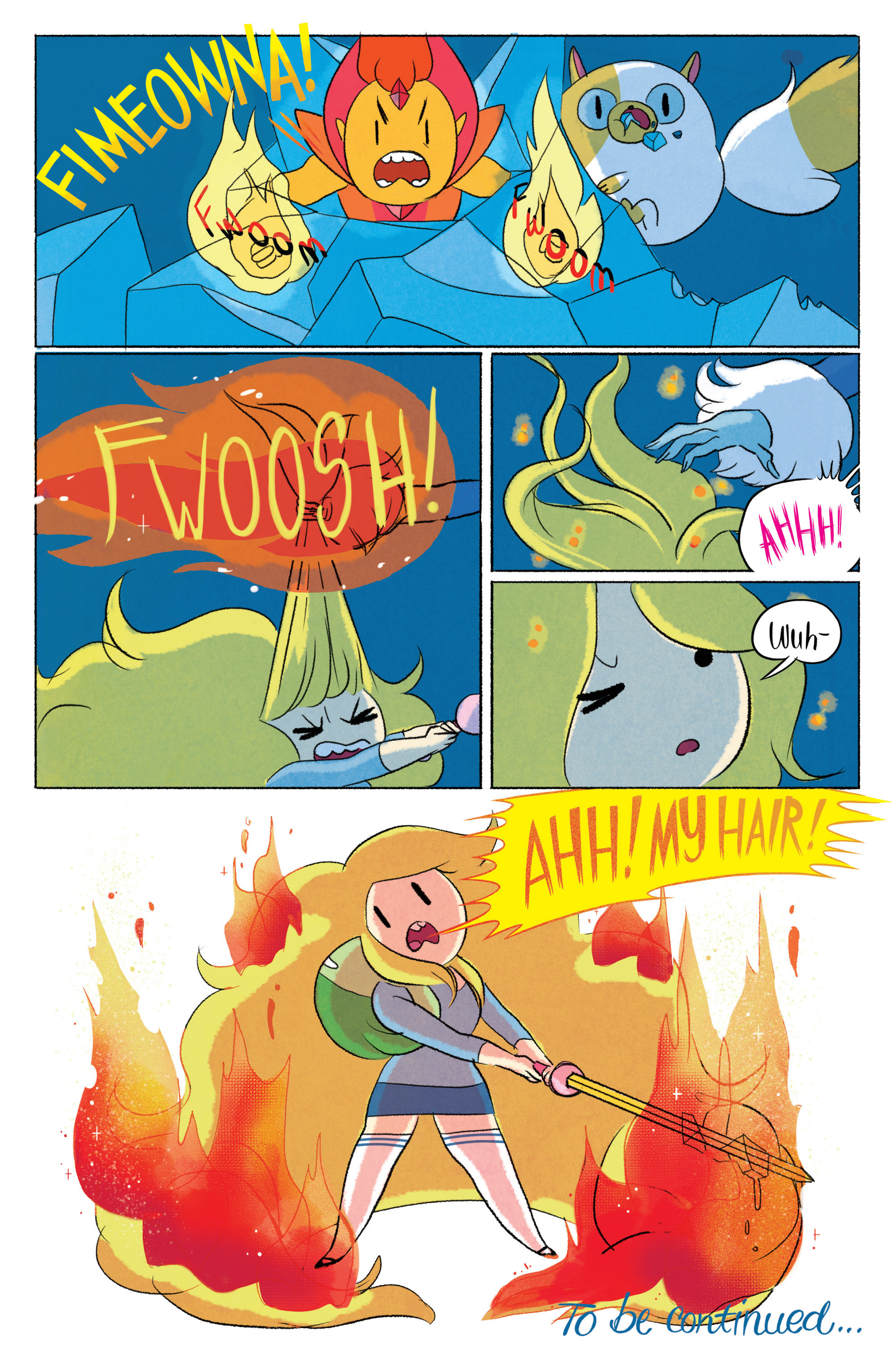Read online Adventure Time with Fionna & Cake comic -  Issue #5 - 22