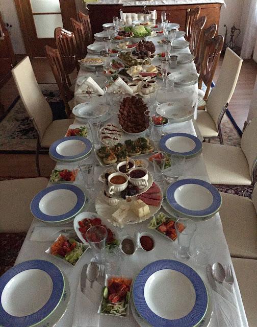 İftar sofraları, Ramazan sofraları, İftar masaları