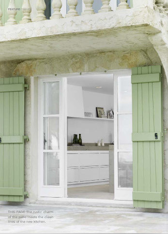 D cor de provence the indoor shutter brilliant for Indoor decorative shutters