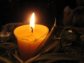 Es mejor encender una vela, que maldecir la oscuridad...