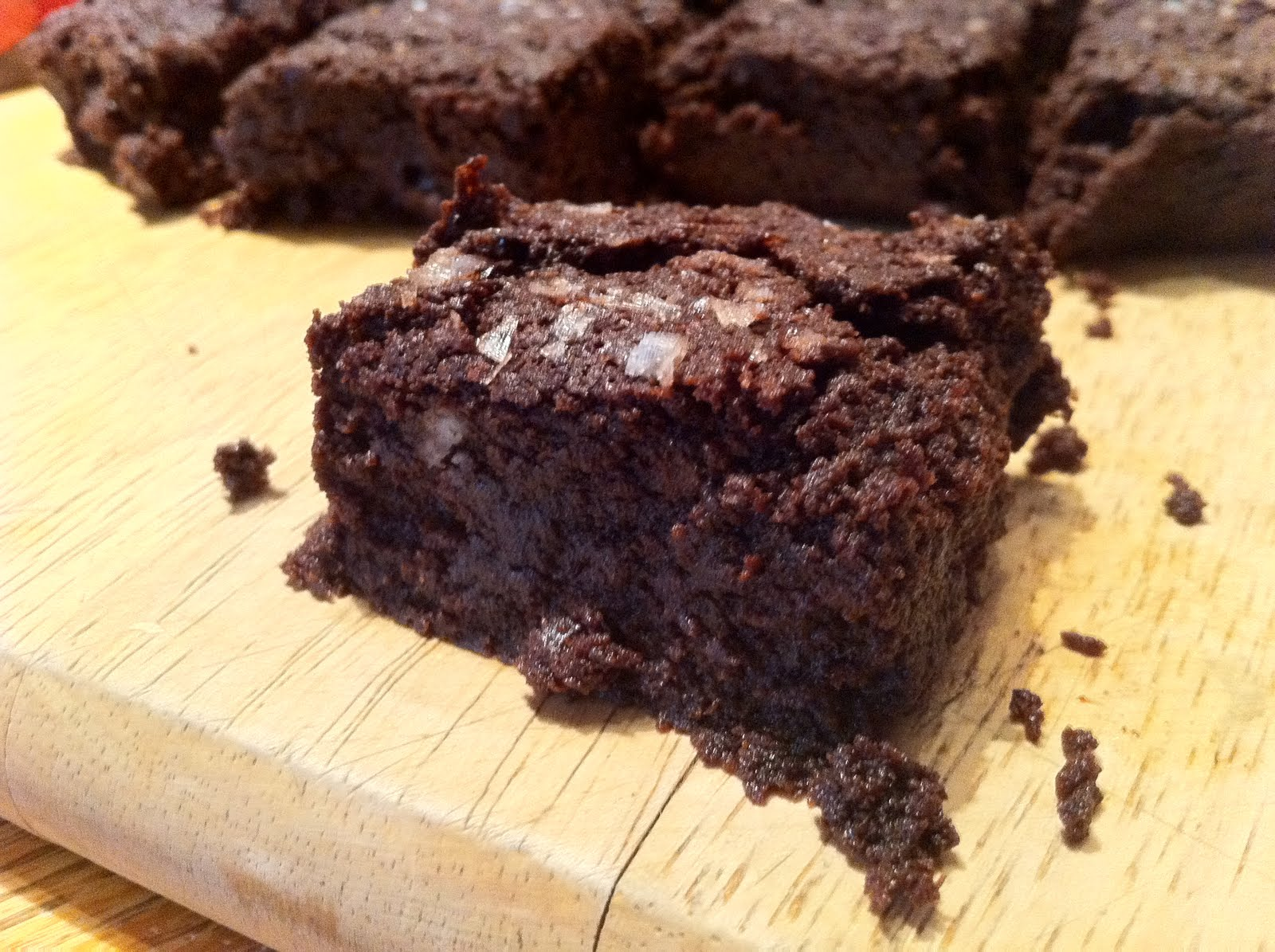 Eat, Drink, Study: Extra-dark Brownies