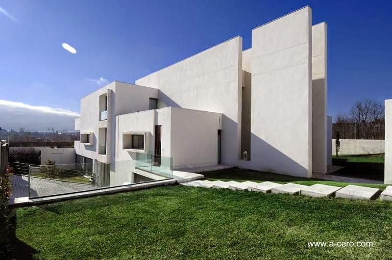 Arquitectura de casas 14 dise os de casas modernas en espa a - Casas modernas madrid ...
