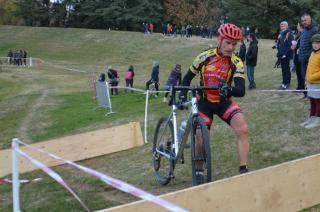 Marc au cyclocross de Valence Dimanche 19 Novembre
