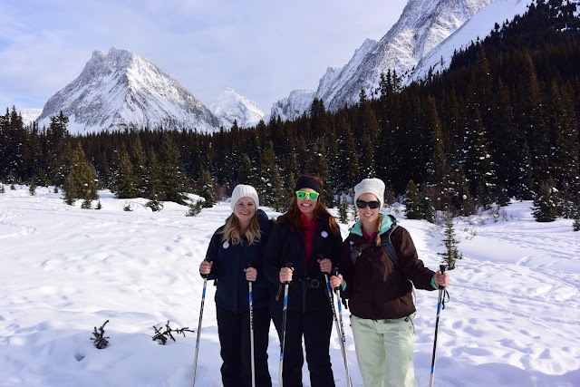 Snowshoeing to Chester Lake, Alberta