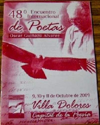 FOLLETO 48º ENCUENTRO INTERNACIONAL DE POETAS