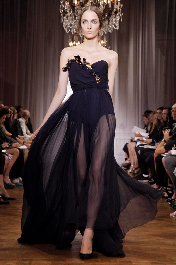 Nina+Ricci+2012+black+sheer+dress+with+gold+leaves+on+bodice+via+DJA Sheer Expressions