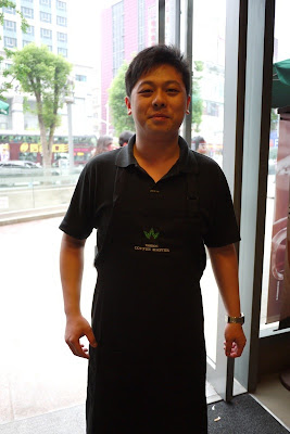 another young man who is a Coffee Master