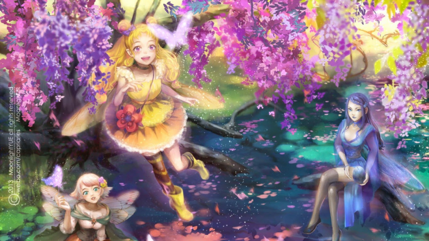 3d fairy girl wallpapers most beautiful places in the