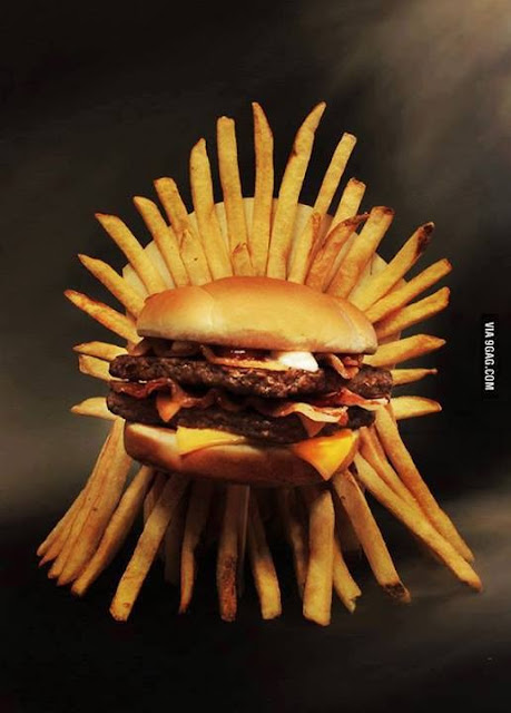 Gordura is coming hamburguesa trono de hierro - Juego de Tronos en los siete reinos