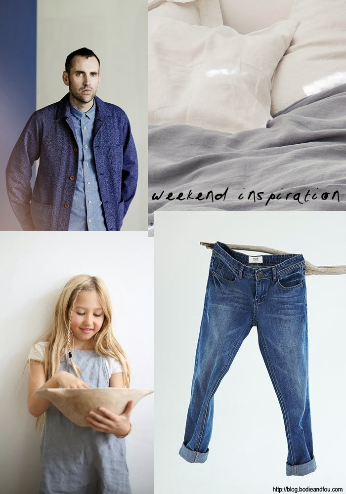Boyfriend jeans blue grey summer weekend