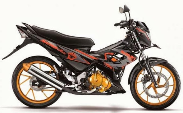 FOTO GAMBAR MODIFIKASI SUZUKI SATRIA 150 CC FIGHTER ONE