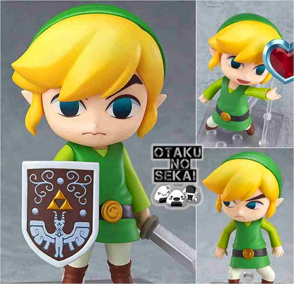 Nendoroid The Legend of Zelda The Wind Walker HD Link