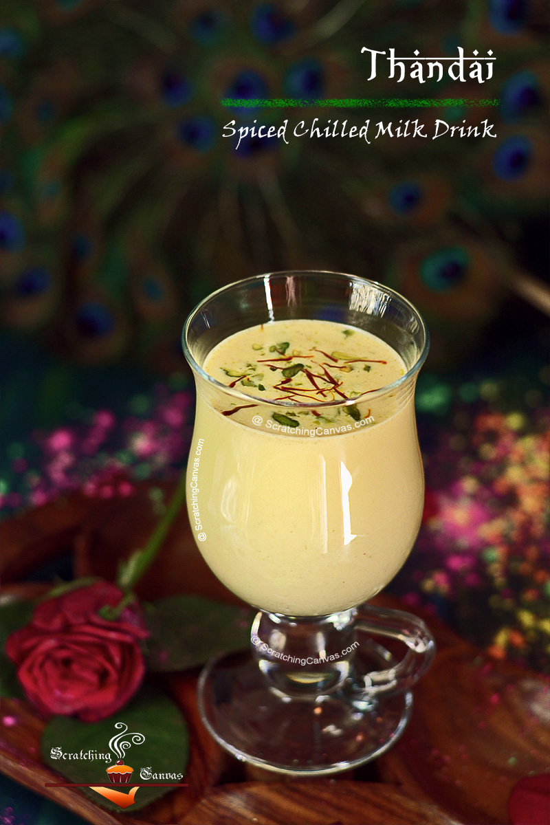 Spiced Chilled Almond Milk Drink | Holi Recipes