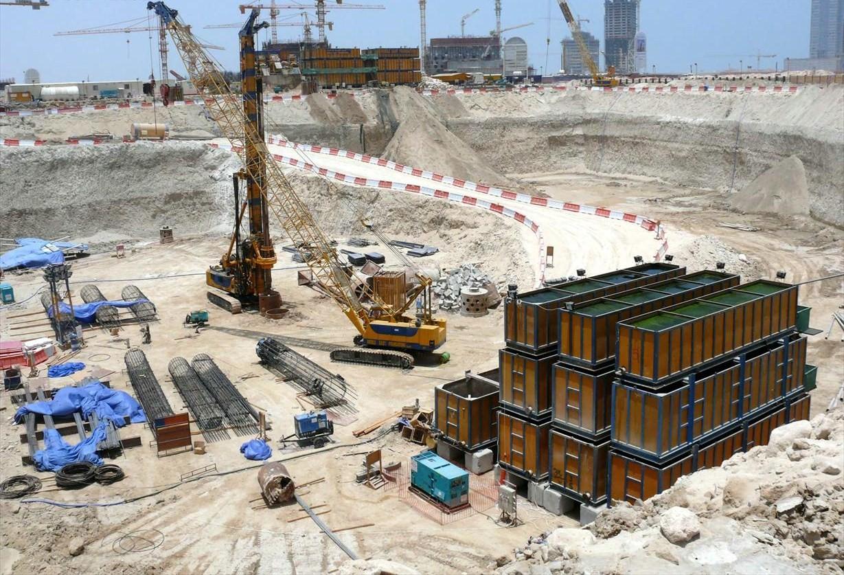 Encyclopedia Burj Al Arab Construction