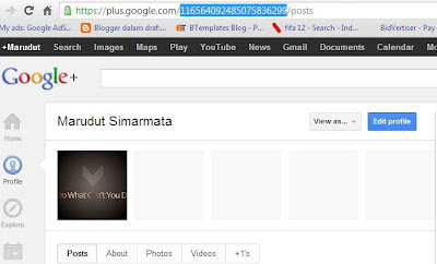 google plus username