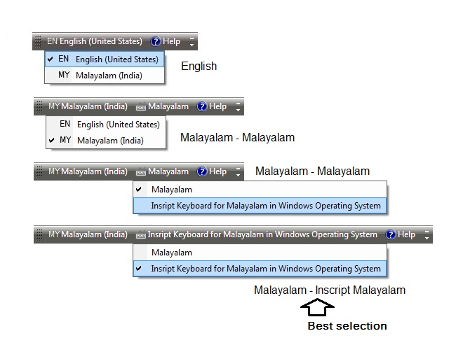 internet and malayalam language How to configure your pc to view malayalam text  click ok in the language  preference window, and then in the internet options window to return to your.