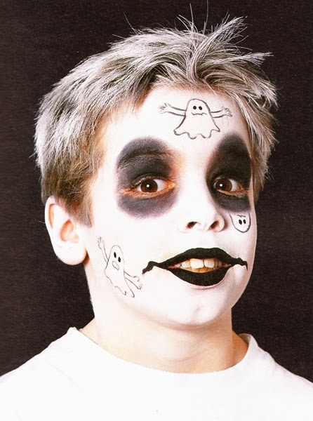 maquillaje de fantasma