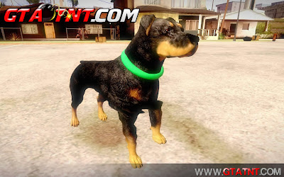 GTA SA - Mod Cachorro Chop do GTA V