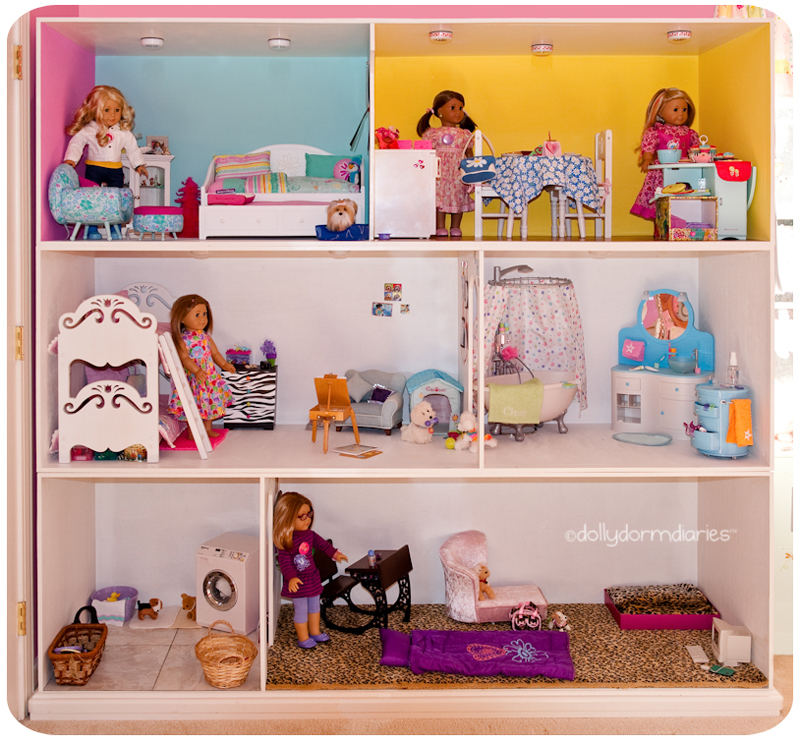 American Girl Doll House Pictures! Read 18 Inch Doll Diaries At Our American  Girl Doll