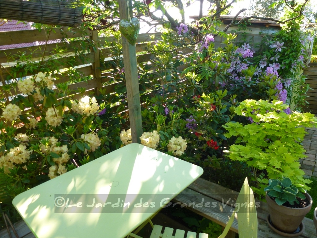 Le jardin des grandes vignes ambiances jardin for Le jardin wine