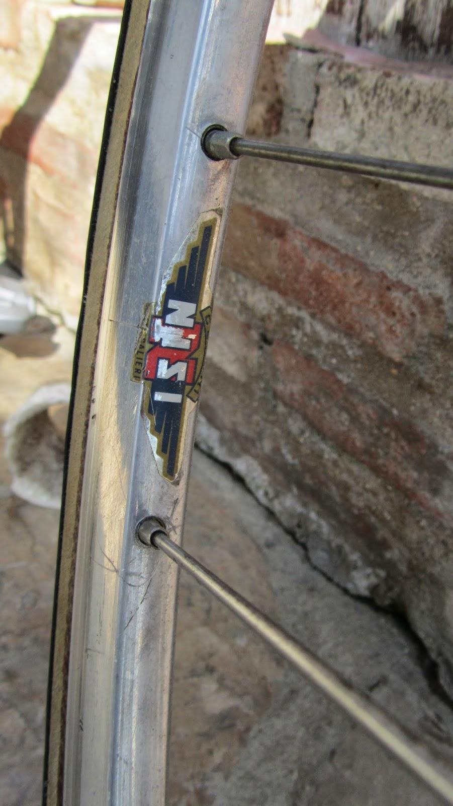 bicicleta orbea contrarreloj - llanta nisi