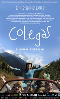 """Poster do filme """"Colegas"""""""