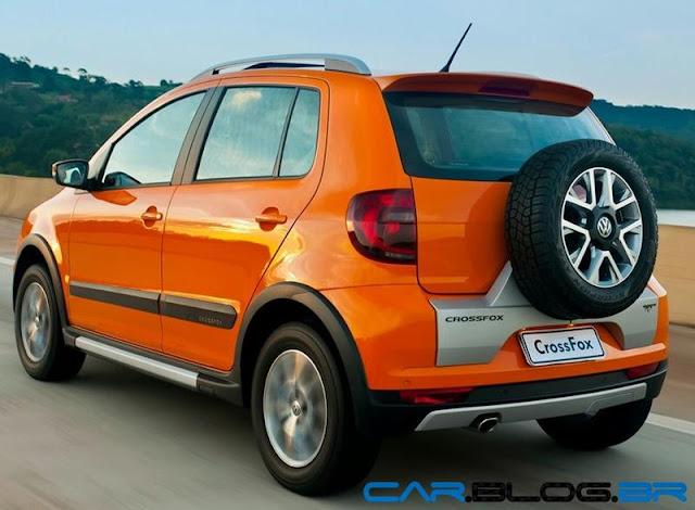 VW CrossFox 2013 - automático