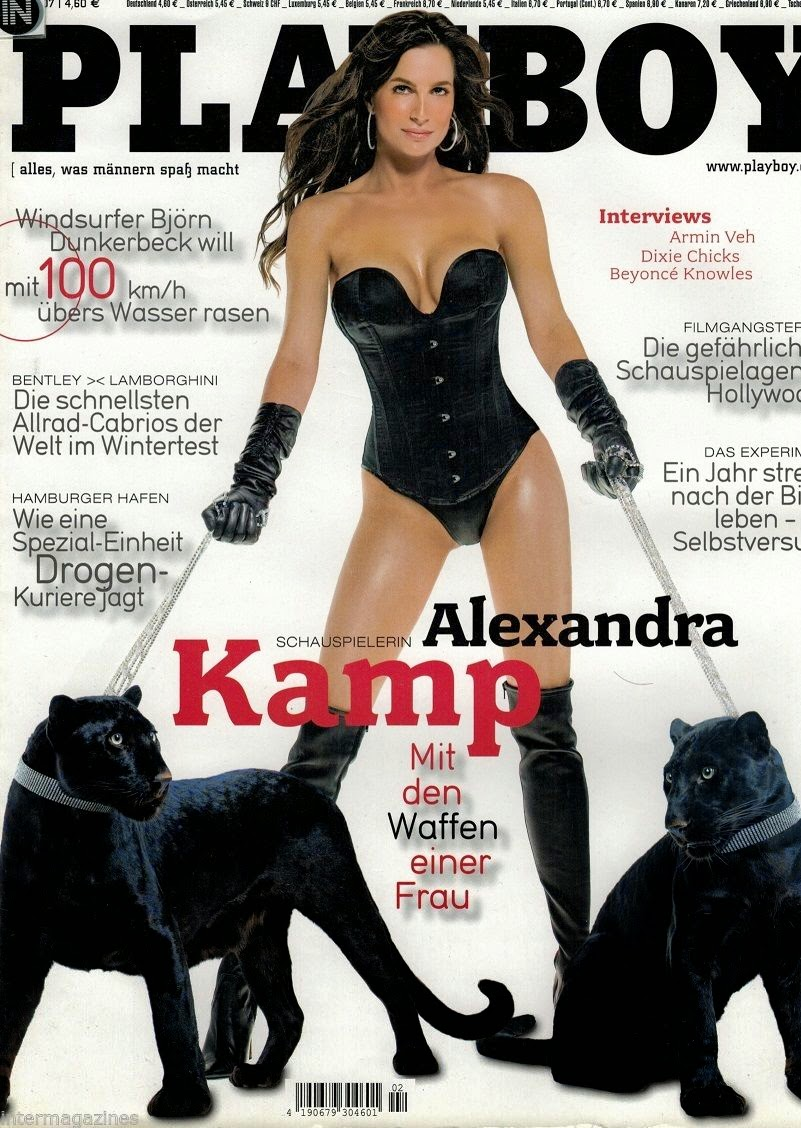 Alexandra Kamp Playboy Magazin Pictures