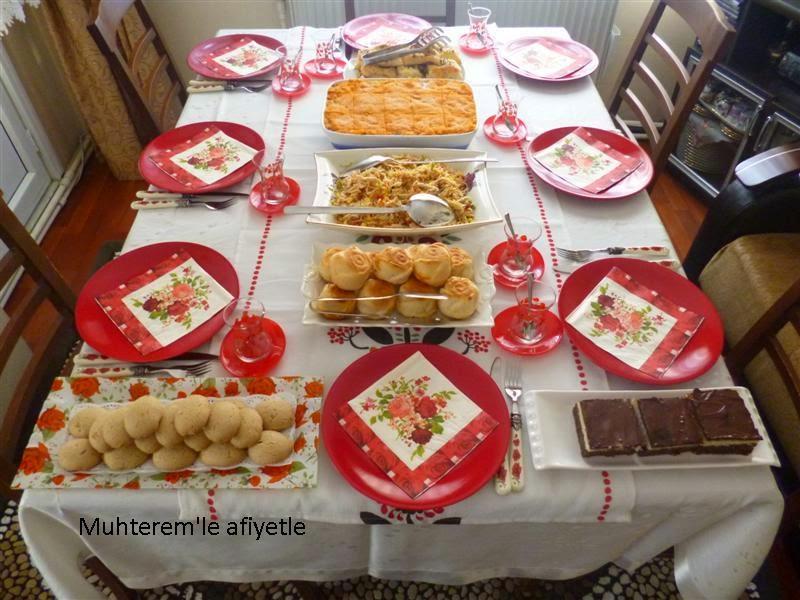 çay masası menüsü nasıl hazırlanır?