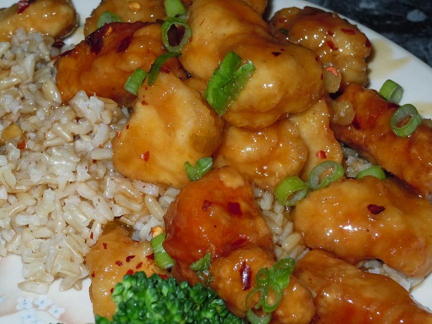 Orange Chicken (similar to Panda Express)