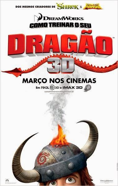 Filme Como Treinar O Seu Dragão Dublado AVI DVDRip