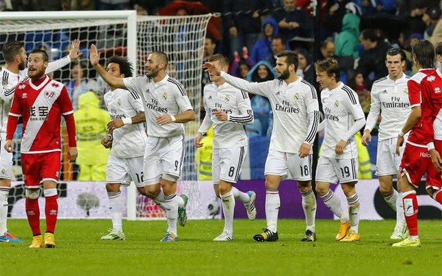 Real Madrid sigue lider en la liga