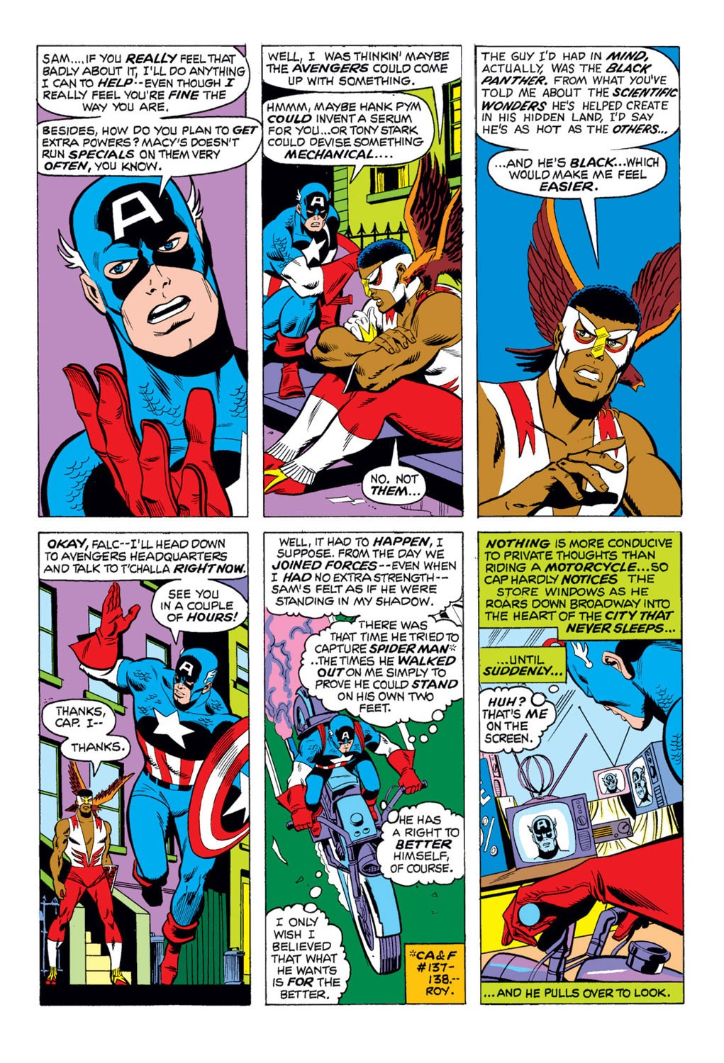 Captain America (1968) Issue #169 #83 - English 7
