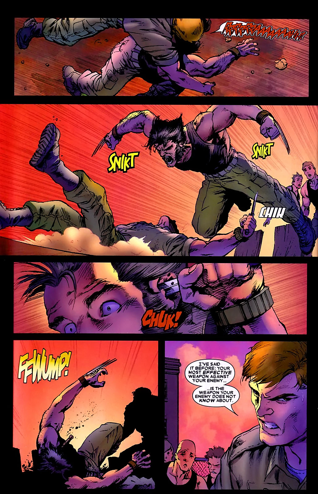 Read online Wolverine (2003) comic -  Issue #34 - 23