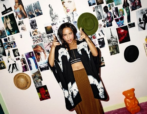 Zoe Kravitz HQ Pictures ASOS Russia Magazine Photoshoot April 2014