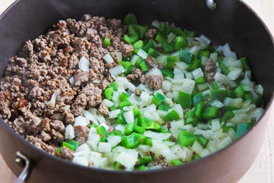 Low-Carb Turkey Picadillo Lettuce Wraps found on KalynsKitchen.com