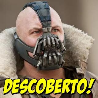 Descoberto o segredo da máscara de Bane!