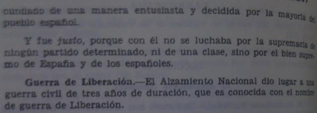 Educación franquista