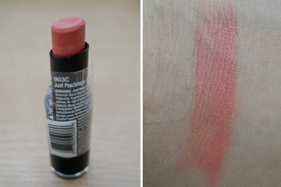 Wet n Wild Mega Last Lip Color in Just Peachy (903C)
