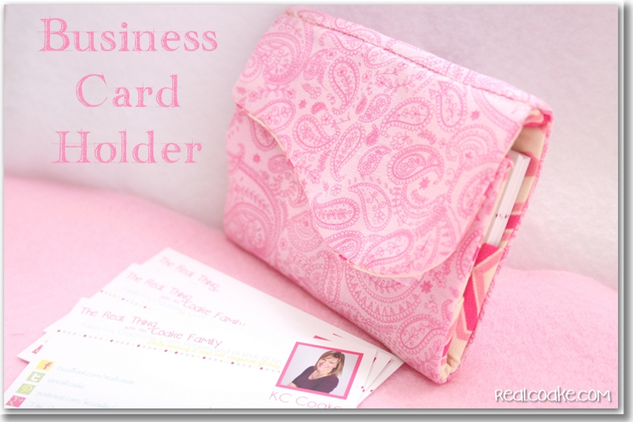 My blog becomes official or making a business card holder the business card holder reheart Choice Image