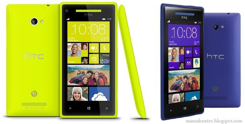 HTC Windows Phone 8S & 8X Specs, User Manual, Price ...