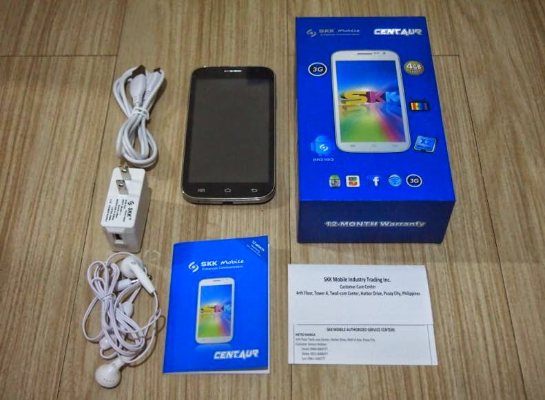 SKK Mobile Centaur Unboxing, Preview And Initial Impression Retail Package